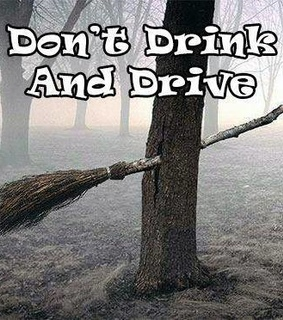 drink, drive and hallowen