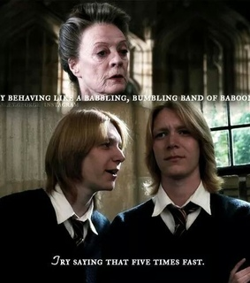 books, fred weasley and funny
