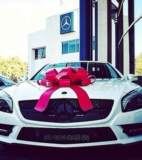 car, gift and love