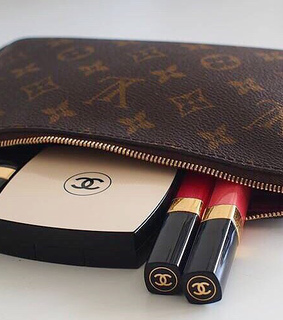 chanel, chanel makeup and cute