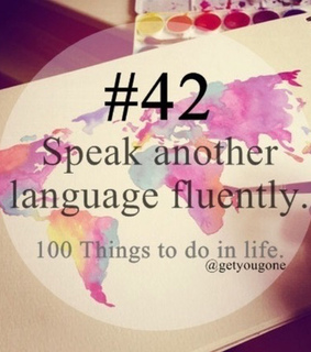 do, language and perfect