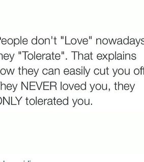 love, never and nowadays