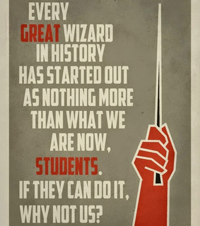 harry potter, hogwarts and students