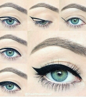 eye, eyeliner and how to do