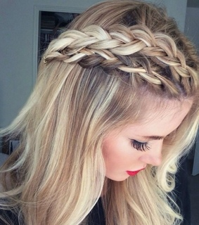 girl, hairstyles and perfect style