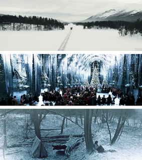 christmas, harry potter and hogwarts