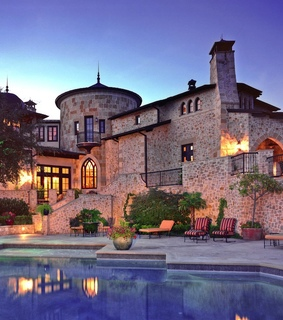 home, luxury and pool