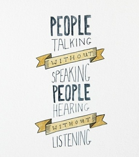 hearing, listening and people