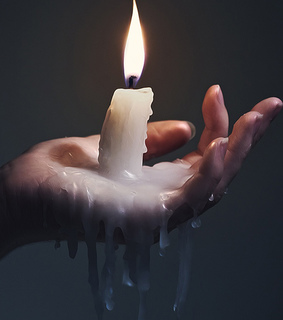 alternative, burn and candle