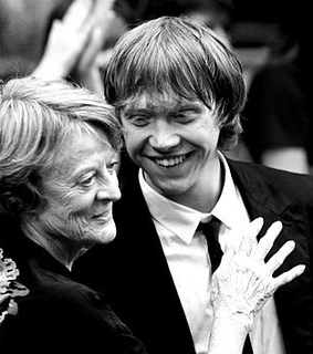 harry potter, hogwarts and maggie smith