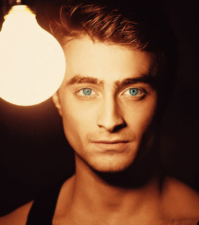 blue eyes, daniel radcliffe and harry potter