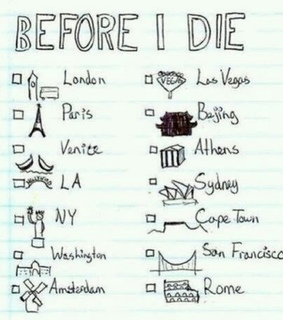 amsterdam, athens and before i die