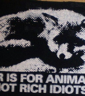 alone, alternative and animal rights