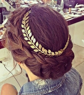 braid, cute and diadem