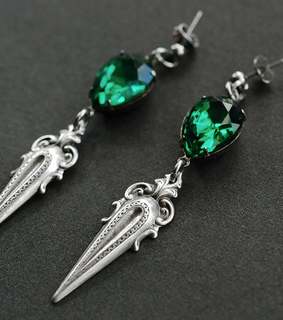earrings, etsy and fashion
