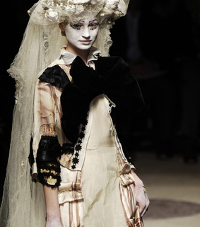 avant-garde, comme des garcons and couture