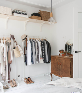 appartement, clothes and dressing room