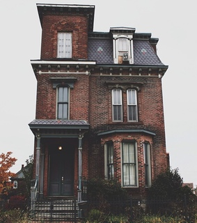 architecture, haunted and haunted house