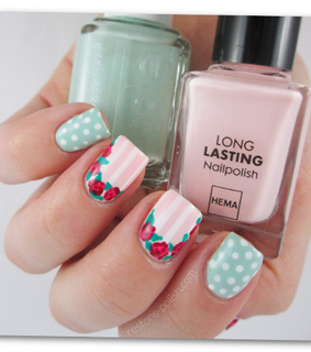 cute, essie and flowers