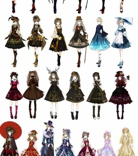 goth, gothic dress and loli dress collection