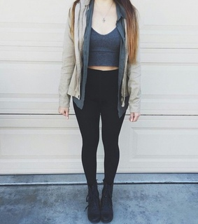 black, boot and girl