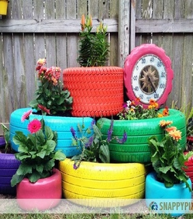 Recycled Crafts, DIY Recycled Tires and Old Tires Designs