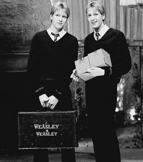 birthday, black and white and fred and george weasley