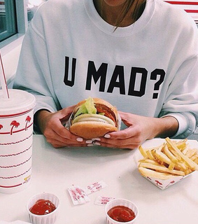 ?, clothes and eat