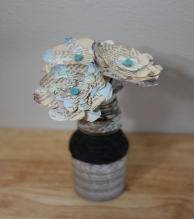 diy tutorial, Recycled Glass Bottles and Beautiful Flower Vase