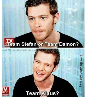 klaus, stolen and the vampire diaries