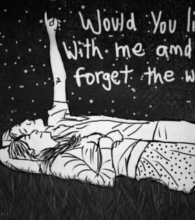 alone, black and chasing cars