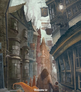 beloved, diagon alley and hagrid