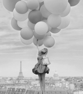 appartement, bag and balloon