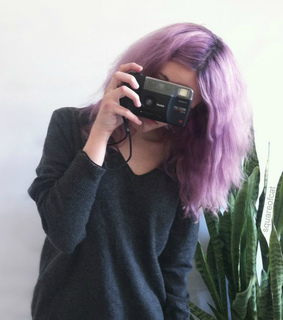 alternative, camera and color hair