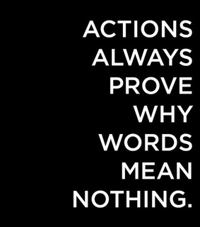 actions, frases and liar