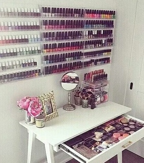 girly stuff, makeup collection and princess