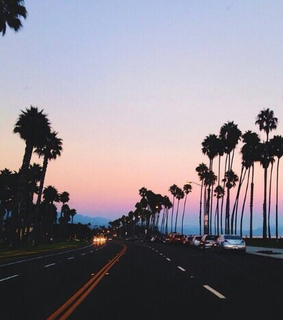 beach, california and colorful