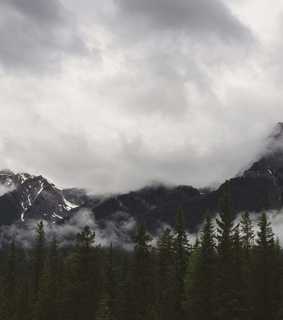 british columbia, canada and clouds