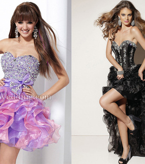 bedazzled, black dress and bows