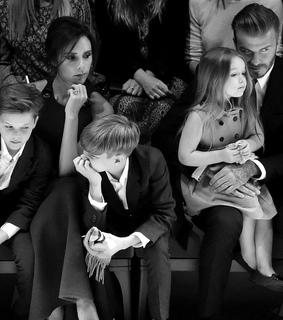 david beckham, fashion and romeo beckham