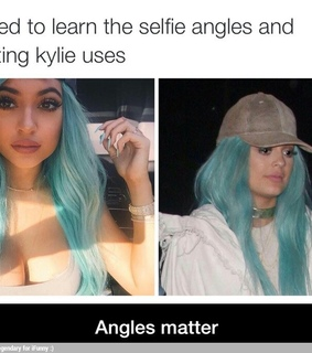 angles, funny and kylie jenner