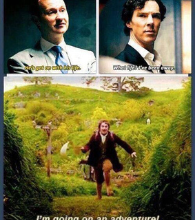 adventure, benedict cumberbatch and bilbo