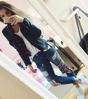 cute, cute outfit and tomboy