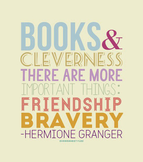 be strong, books and brave
