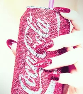 blingbling, coca cola and fashion
