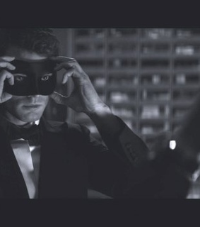 50 shades of grey, black and white and christian grey