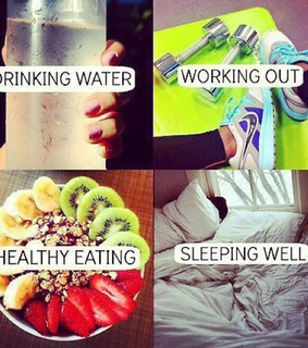 body, diet and sleeping