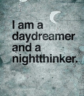 black, day and daydreamer