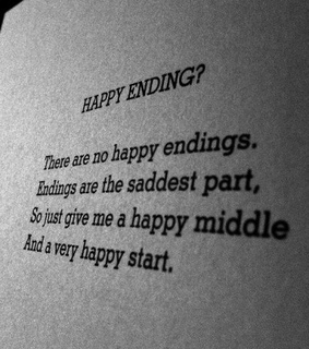 awh, endings and grunge