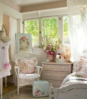 girly bedroom, home decorating and interior design
